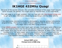8 Element Quagi Antenna for 70cm