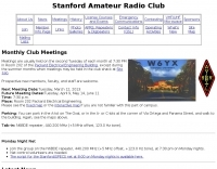 W6YX - Stanford Amateur Radio Club
