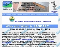 San Diego County Amateur Radio Council