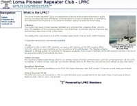 Loma Pioneer Repeater Club - LPRC