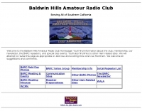 Baldwin Hills Amateur Radio Club