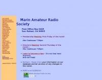 W6SG Marin Amateur Radio Society
