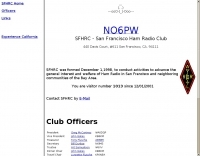 NO6PW San Francisco Ham Radio Club