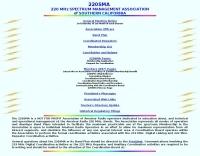 220 MHZ  Spectrum Management Assn