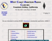 WC6ARC West Coast Amateur Radio Club