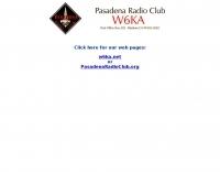 W6KA Pasadena Radio Club