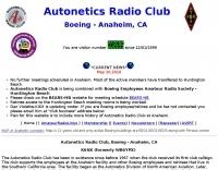 K6NX Autonetics Radio Club - Boeing, Anaheim