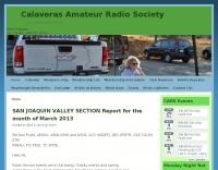N6FRG Calaveras Amateur Radio Society