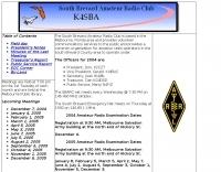 K4SBA The South Brevard Amateur Radio Club