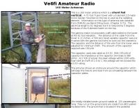 VE6FI 160 Meter Antenna