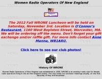 Women Radio Operators of New England