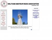 The Waltham Amateur Radio Association