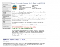 OMARC, The Ocean-Monmouth Amateur Radio Club, Inc.