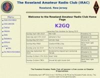 K2GQ Roseland Amateur Radio Club