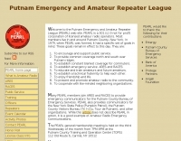 Putnam Emergency and Amateur Repeater League