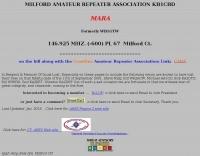 KB1CBD Milford amateur repeater assciation