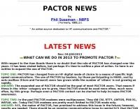 Pactor news