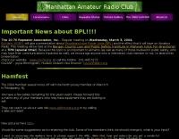 Manhattan Amateur Radio Club