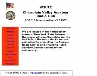 Champlain Valley Amateur Radio Club