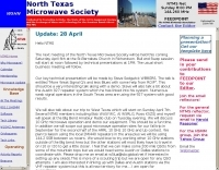 W5HN North Texas Microwave Society