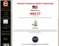 W8CTT Pioneer Amateur Radio Fellowship