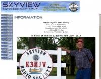 K3MJW SkyView Radio Society