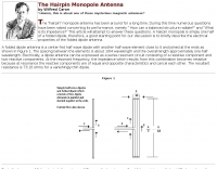 The Hairpin Monopole Antenna
