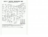 OHIO 2 meter repeater map