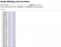 Amps Mailing List