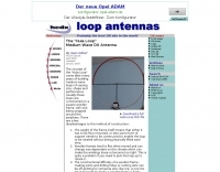 Hula Hoop Loop antenna