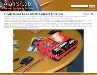 Small Tuned Loop AM Broadcast Antenna