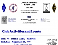Joplin Amateur Radio Club