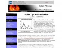 NASA Sunspot Cycle Predictions