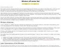 Windom off center fed antenna 80-10 mt