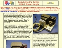 Rebuilding the Collins 516F-2 Power Supply