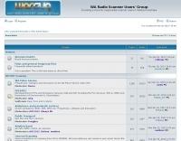 WA Radio Scanner Users' Group