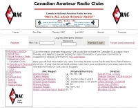 RAC list of ham radio clubs
