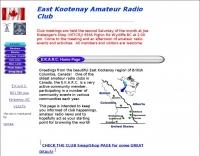 East Kootenay Amateur Radio Club