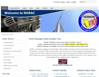 VE7NOR North Okanagan Radio Amateur Club