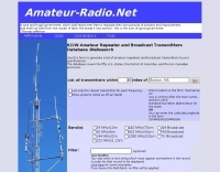 Repeater and Broadcast Transmitter Database