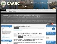 Central Alberta Ham Radio Club