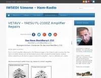 YAESU FL-2100Z Amplifier Repairs