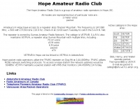 Hope Amateur Radio Club