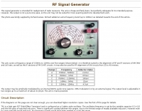 Restoring an RF Signal Generator