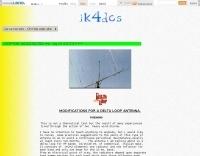 Delta Loop antenna maintenance