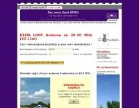 Delta loop antenna on  on 26-30 MHz