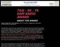 TA2J - SK . TA Ham Radio Award