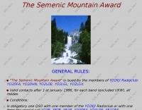 The Semenic Mountain Award