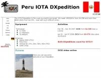 IOTA DXpedition to SA-076 & SA-098