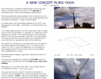 W7CY 80 Meter Yagi
